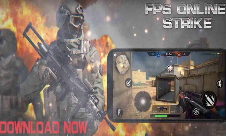تنزيل لعبة الحروب FPS Online Strike للهاتف