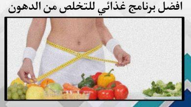 افضل برنامج غذائي للتخلص من الدهون