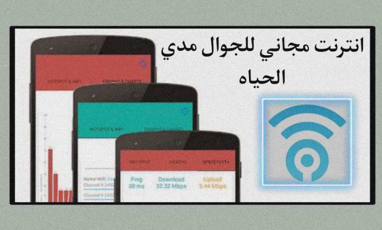 برنامج يمنحك انترنت مجاني للجوال مدي الحياة