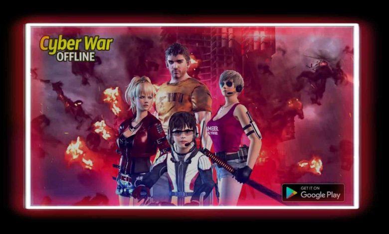تحميل لعبة Cyber War Cyberpunk Reborn للهاتف