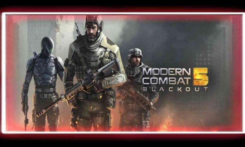 تحميل لعبة Modern Combat 5 برابط مباشر للهواتف